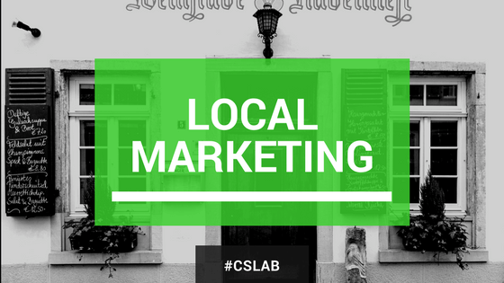 Cos'è il local marketing e qual è la prima cosa da fare online?